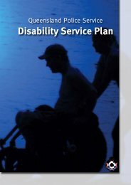 Queensland Police Service Disability Service Plan