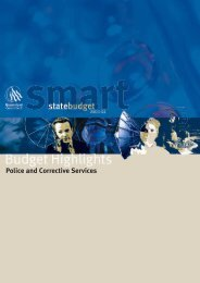 Police and Corrective Services - Queensland Police Service