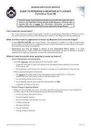 Form 6A/6B - Application to renew a Weapons Licence