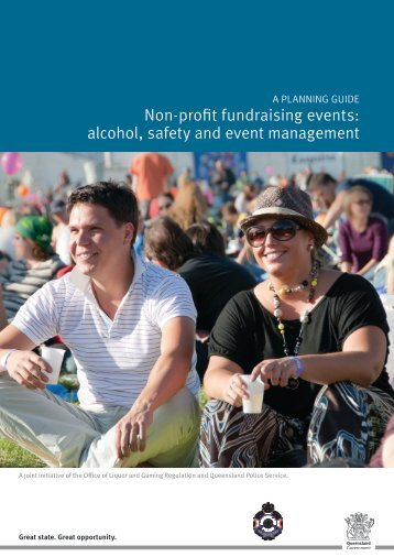 alcohol, safety and event management - Queensland Police Service ...