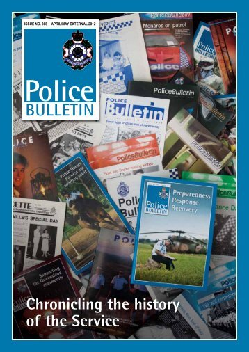Police Bulletin Issue No. 368 - Queensland Police Service ...