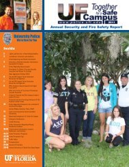 Crime Statistics - UFPD - University of Florida