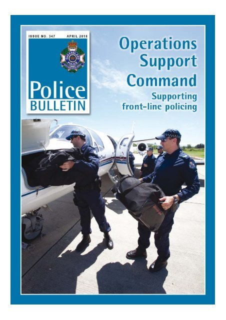 From Commissioner Atkinson Queensland Police Service