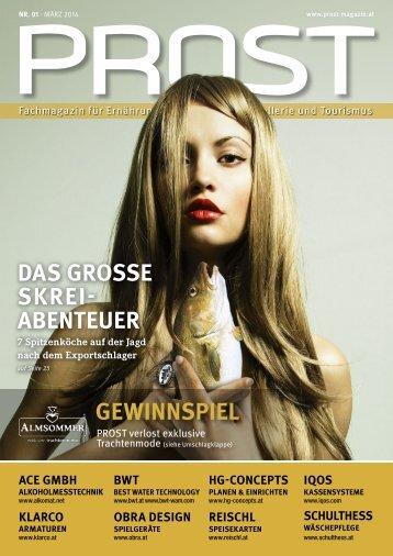 PROST Ausgabe 01 - März 2014