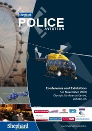 Conference and Exhibition 5-6 November 2008 - Police Aviation News