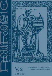 Riviste Polifonie/119_2005 n 2.pdf - Fondazione Guido d'Arezzo
