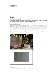 design CR&S Poliform, 2012 Ci sono armadi invisibili e armadi fatti ...