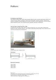 letti e contenitori:Layout 1 - Poliform