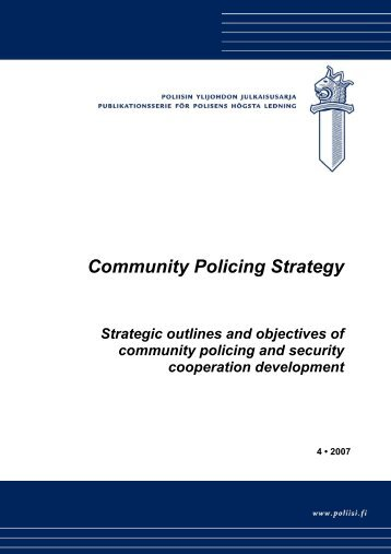 Community Policing Strategy - Poliisi