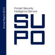Finnish Security Intelligence Service - Poliisi