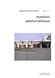 Hotellien paloturvallisuus - Poliisi