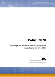 Poliisi 2020 - Poliisin pitkän aikavälin henkilöstötarpeiden ...