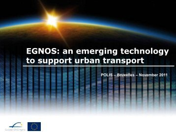 The benefit of EGNOS in urban transport