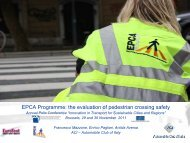 The evaluation of pedestrian crossing safety