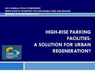 HIGH-RISE PARKING FACILITIES: A SOLUTION FOR URBAN ...