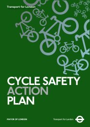 Cycle Safety Action Plan