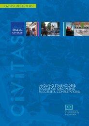 InvolvIng StakeholderS: toolkIt on organISIng SucceSSful ... - Eltis
