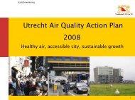 Utrecht Air Quality Action Plan 2008