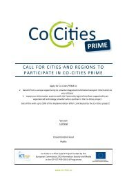 call for cities and regions to participate in co-cities prime