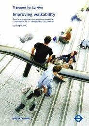 TfL Improving Walkability - Transport for London