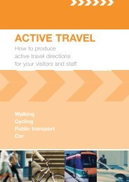 How to produce active travel directions - June 06