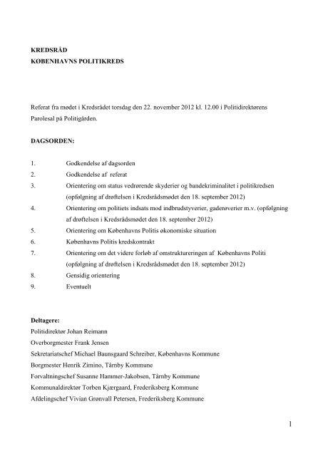 Hent referatet i PDF - Politiets