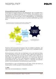 Kommunikationsstrategi for dansk politi - Politiets