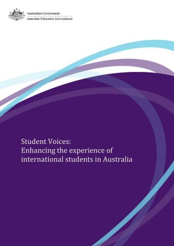 Student Voices: Enhancing the experience of international students ...