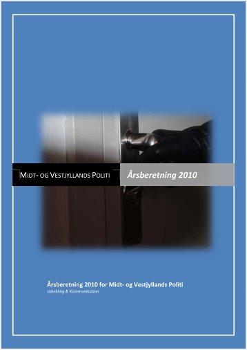 Årsberetning 2010 - Politiets