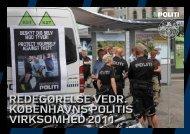 Virksomhedsberetning 2011 - Politiets