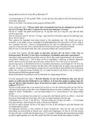 spørgsmål og svar marts 2007 - Politiets