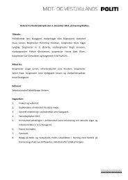 Referat fra Kredsrådsmøde den 3. december 2012, på ... - Politiets