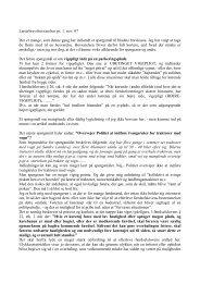 spørgsmål og svar november 2007 - Politiets