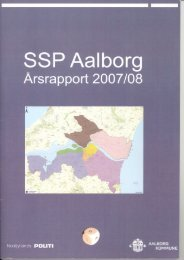 SSP Årsrapport 2007/2008 Aalborg kommune - Politi