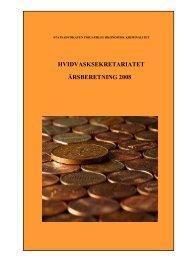Hvidvasksekretariatets årsberetning 2008 - Politiets