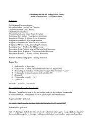 Referat af kredsrådsmøde 7. november 2012 - Politi