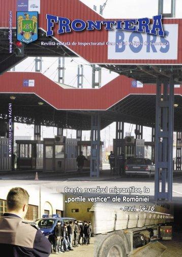 Nr. 10/2010 - Politia de Frontiera