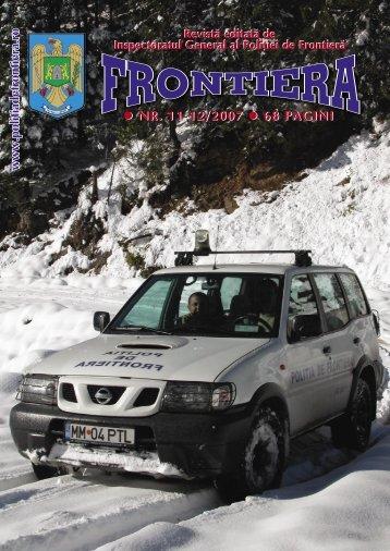 Nr. 11-12/2007 - Politia de Frontiera