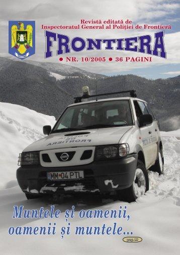 Nr. 10/2005 - Politia de Frontiera