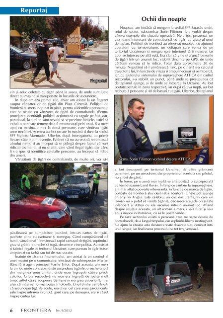 Nr. 9/2012 - Politia de Frontiera
