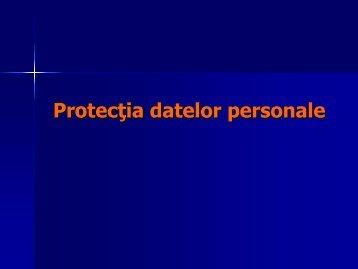Protectia datelor personale - Politia de Frontiera