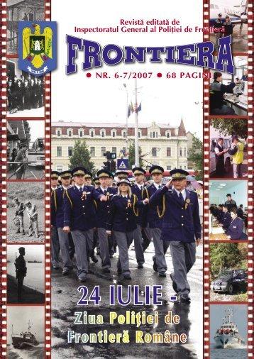Nr. 6-7/2007 - Politia de Frontiera