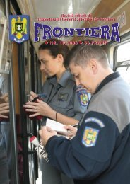 nr. 10/2006 36 pagini nr. 10/2006 36 pagini - Politia de Frontiera