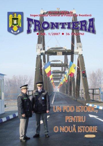 Nr. 1/2007 - Politia de Frontiera