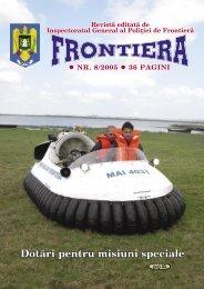 Nr. 8/2005 - Politia de Frontiera