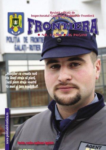 Nr. 1/2006 - Politia de Frontiera