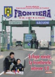 Nr. 4/2007 - Politia de Frontiera