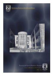 Plan de Desarrollo Institucional 2008-2012 - Facultad de Ciencias ...