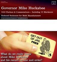 Governor Mike Huckabee - Politico
