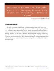 Healthcare Reform and Medicaid: Patient Access ... - Politico